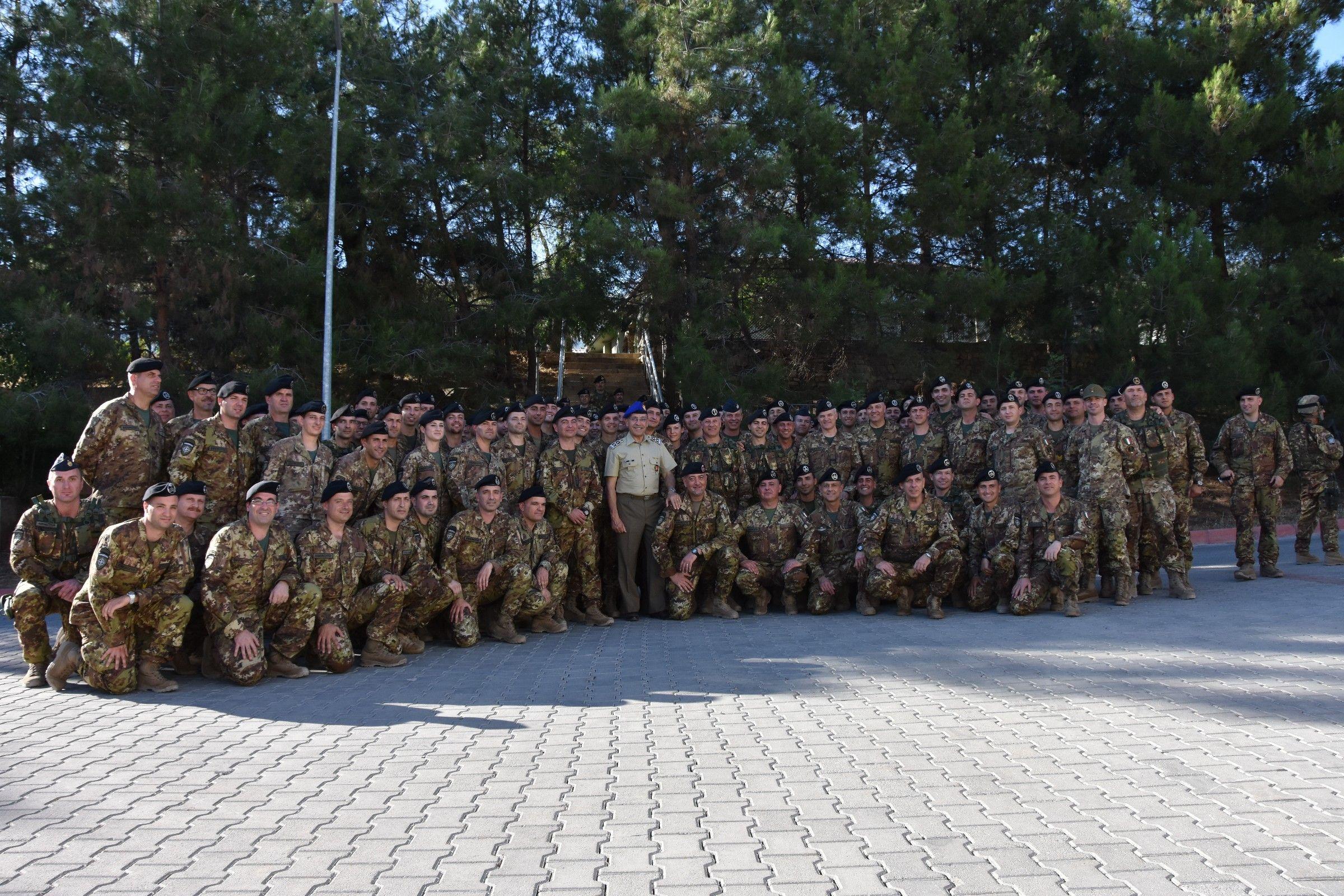 Saluto ai nostri militari in Turchia - Esercito Italiano