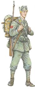 Fante del 17 reggimento 39 acqui 39 for Uniform guarnizioni